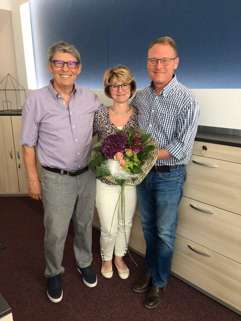 25 Jähriges Betriebsjubiläum Frau Ute Marciniak