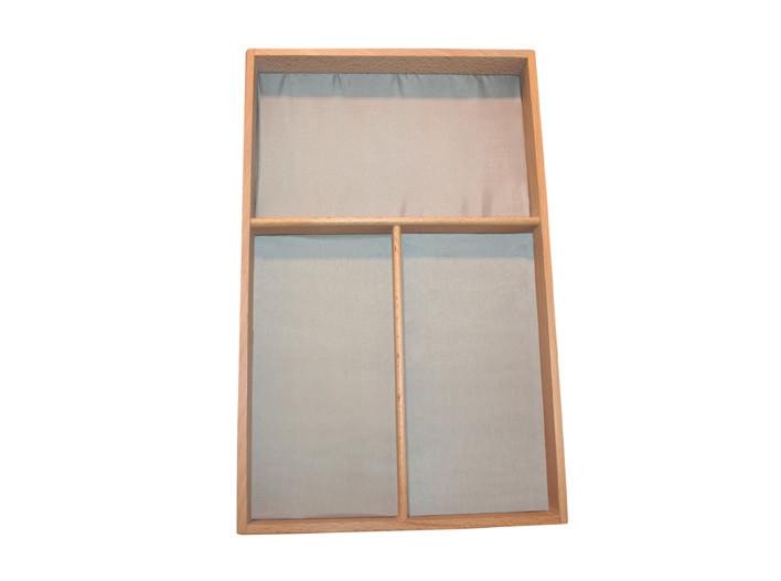 schubladeneins tze tabletts und schubkasteneins tze f r stehende und liegende fassungen. Black Bedroom Furniture Sets. Home Design Ideas